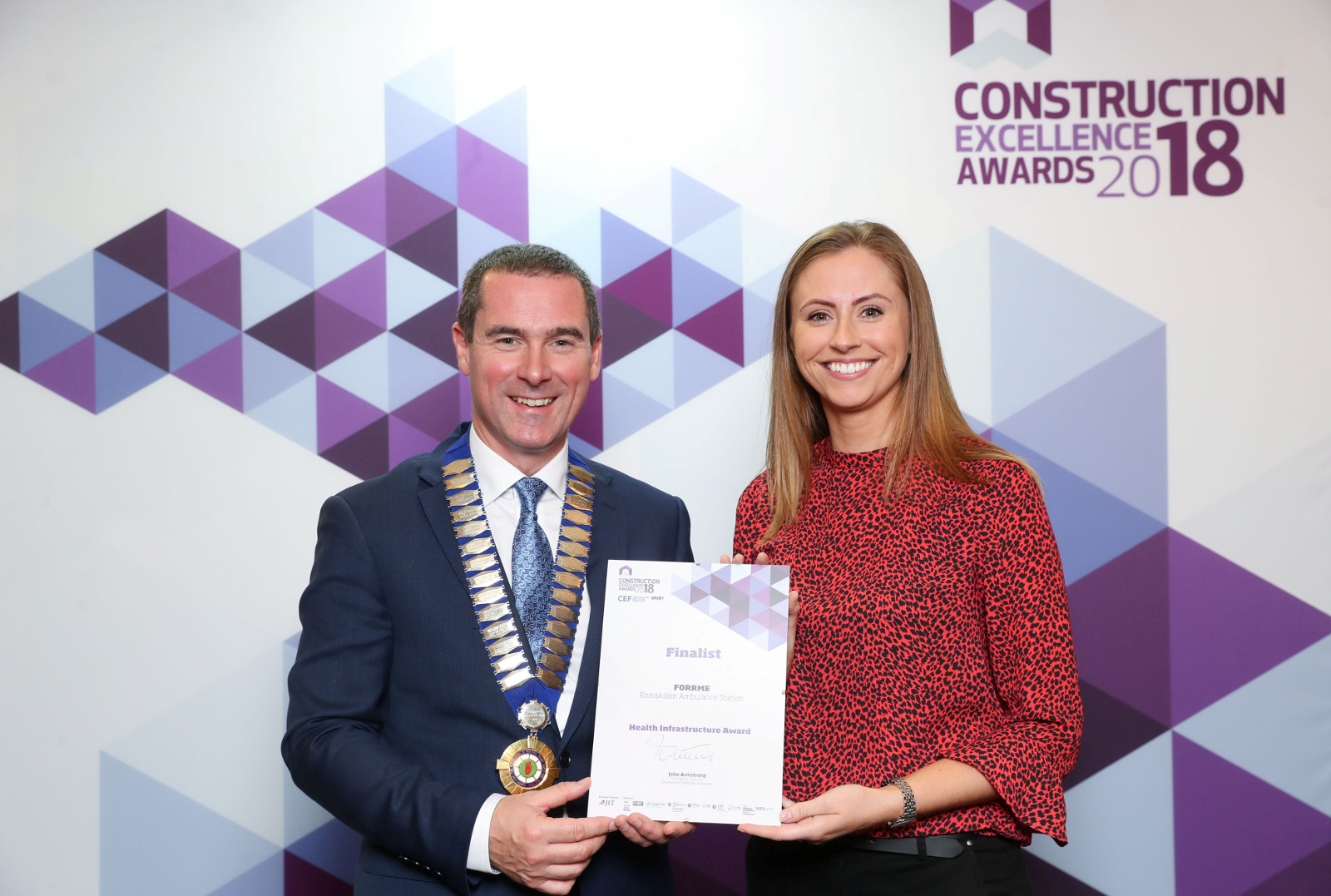 FORRME project amongst the finalists in Construction Excellence Awards 2018