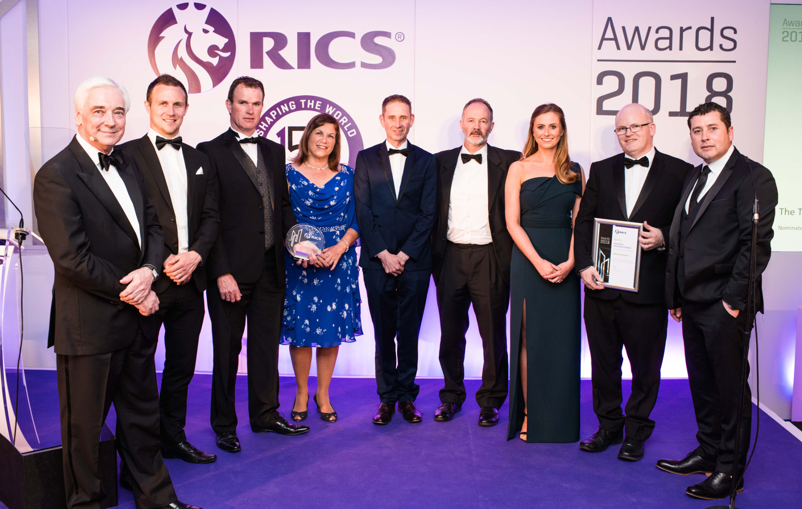 Success at 2018 RICS Awards