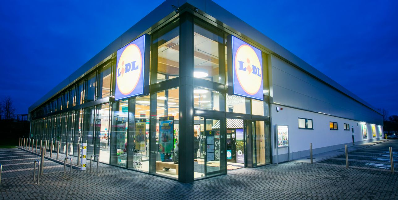 Latest Project - Lidl Magherafelt