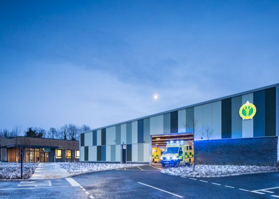 Enniskillen Ambulance Station shortlisted for 2018 RICS Award