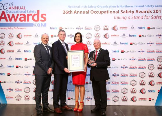 Success at NISO/NISG Occupational Safety Award